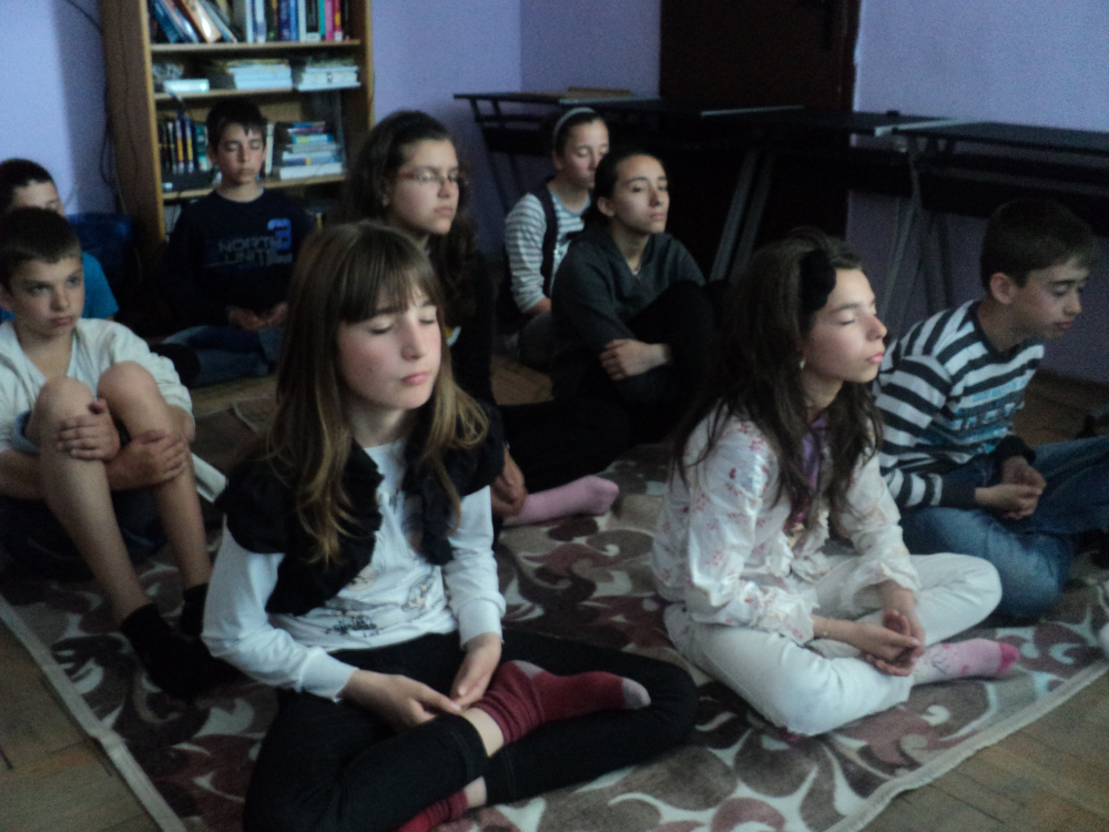 Trying out meditation