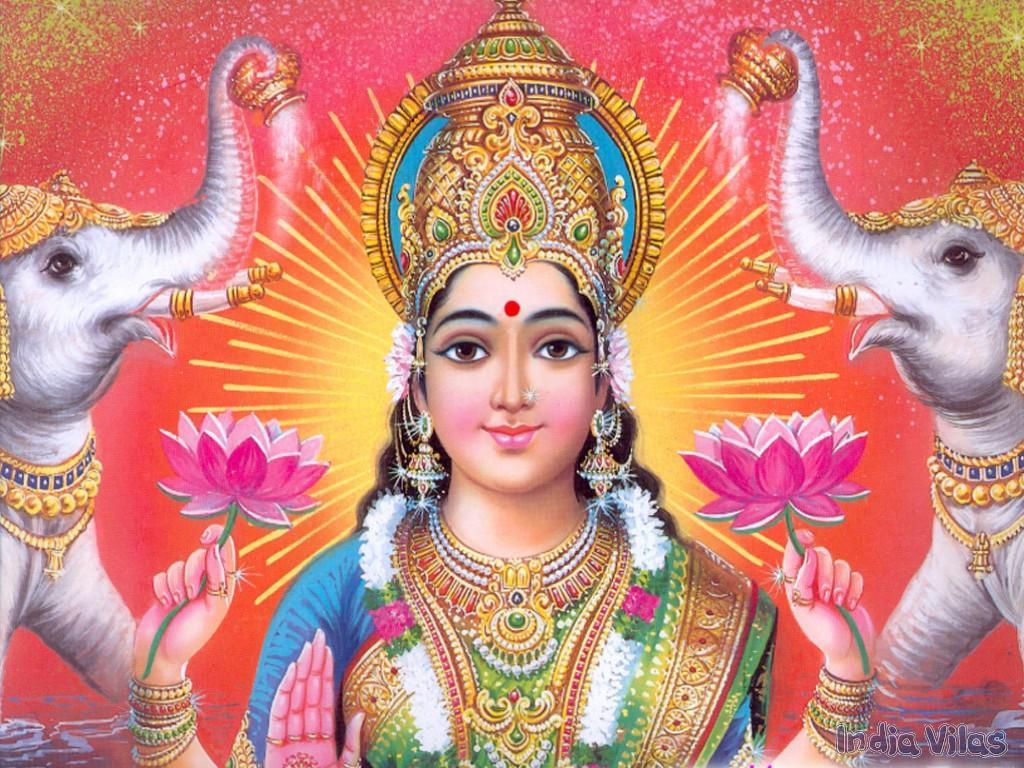 Hindu goddess lakshmi devi have hit