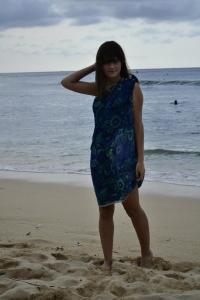Maggie Nazer in Bali, Indonesia