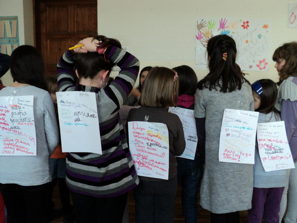 Showing everyone's lists of positive feedback received from the others