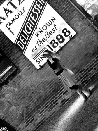 Maggie Nazer in New York