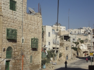 A view from Al Khalil/ Hebron