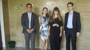 Маги Назер и приятели на празненството по случай отбелязването на международния ден на Йерусалим