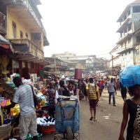 The exploration begins: first steps alone in Freetown